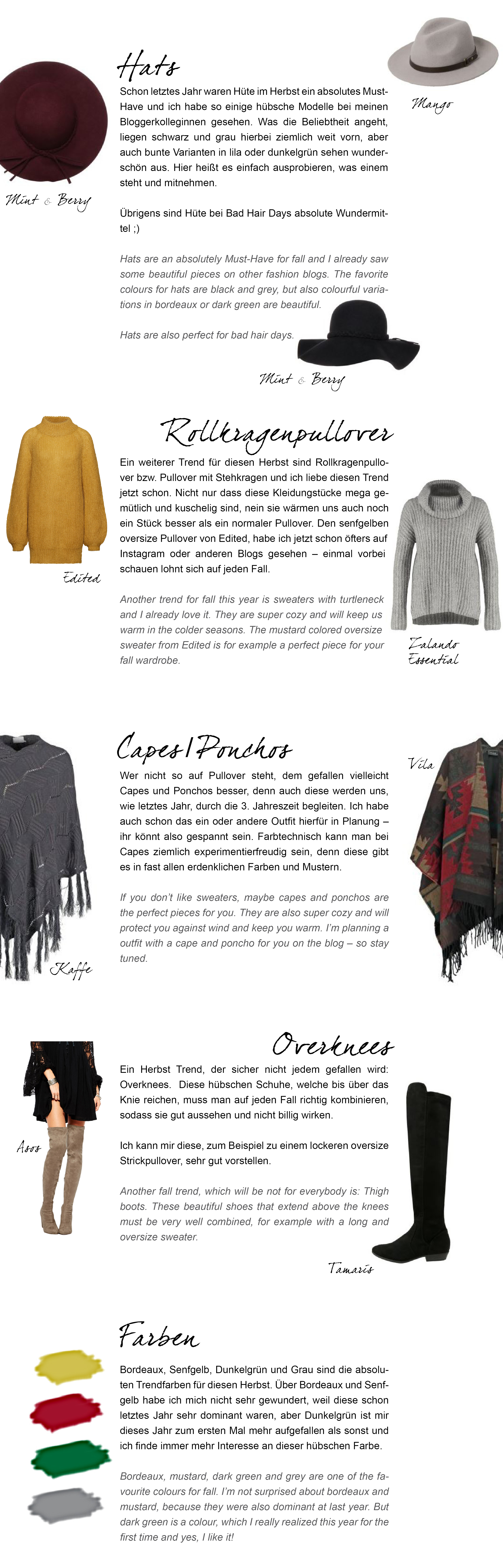 fashion herbst trends 2015 justmyself. Black Bedroom Furniture Sets. Home Design Ideas