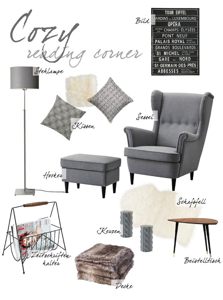collage graues interieur web justmyself. Black Bedroom Furniture Sets. Home Design Ideas