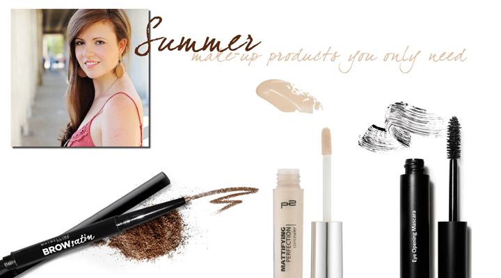 Justmyself-Fashionblogger-Make-up-Produkte-für-den-Sommer-Maybelline-Brow-Satin-p2-Mattifying-concealer-bobbi-brown-eye-opening-mascara