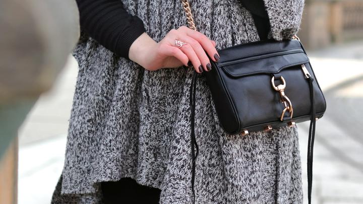 heißes Produkt Luxus-Ästhetik Markenqualität Justmyself-Fashionblog-Deutschland-poncho-grau-Esprit ...