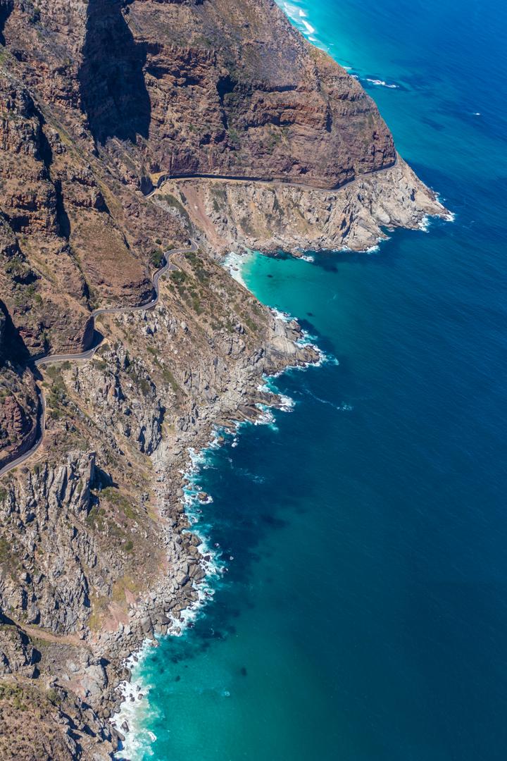 Helikopterflug über Kapstadt Helicopterflight over Cape Town