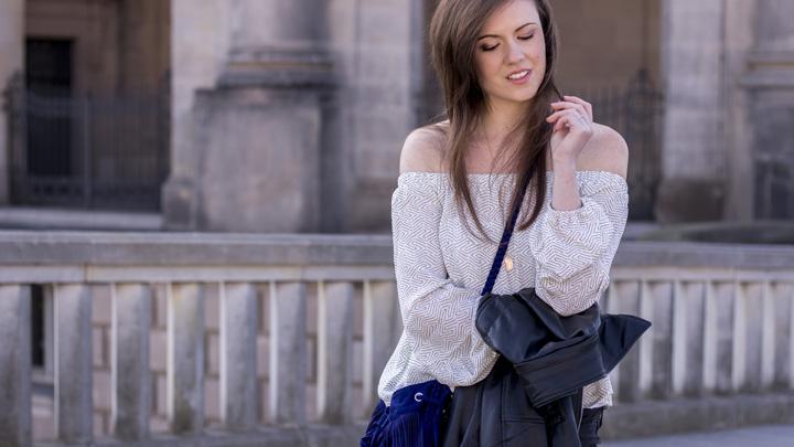 JustMyself-Fashionblog-Deutschland-Off-Shoulder-Bluse-Forever21-ripped-jeans-ankle-boots-zara-lederjacke-frühlingsoutfit-4