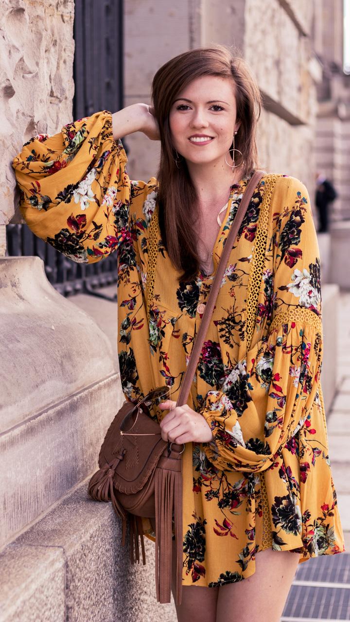 fashionblog senfgelbes sommerkleid littlelace mustard yellow summer dress sommeroutfit